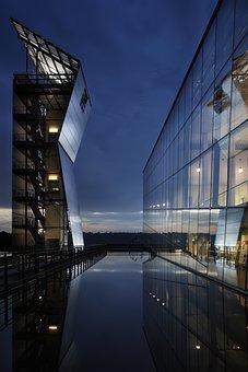 Glass, Architecture, Water, Design, Modern, Building