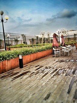 Balcony, Sunny, City, Day, Sun, Terrace, Nature, Urban