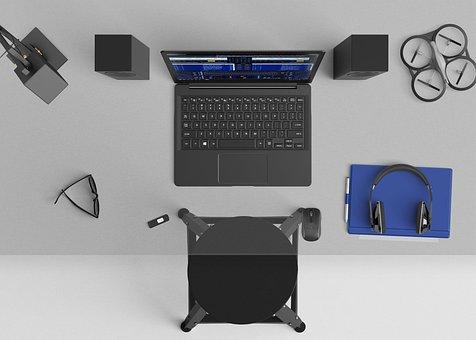 Desktop, Mixing, Speakers, Microsoft Surface, Workspace