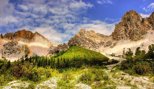 Dolomites, Fanes, Landscape, Mountains, Rock, Alpine