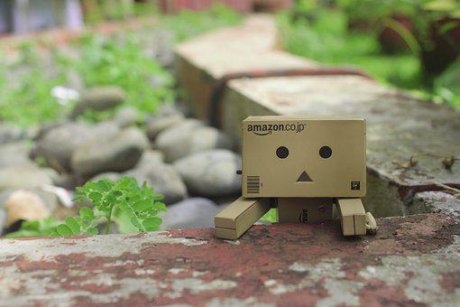 Looking, Playful, Danbo, Action Figure, Green, Funny