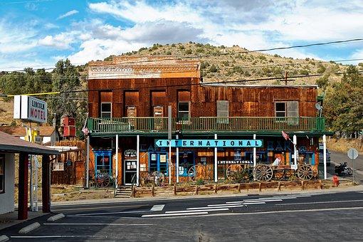Nevada, Austin, West, America, Saloon