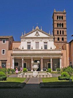 Santa Cecilia In Trastevere, Rome, Italy, Europe