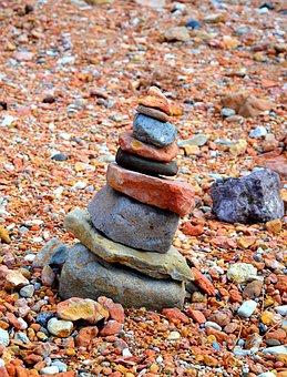 Stones, Reddish, Nature