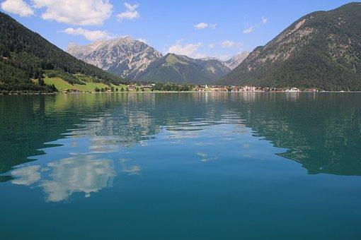 Achensee, Tyrol, Austria, Tyrolean Alps, Nature, Lake