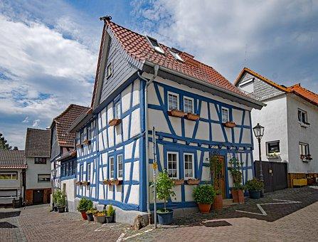 Usingen, Taunus, Hesse, Germany, Old Town, Old Building