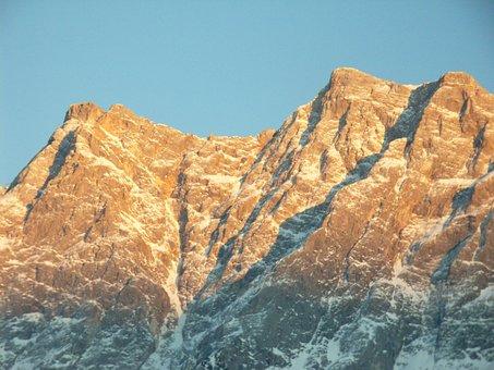 Weather Stone, Zugspitze, Mountains