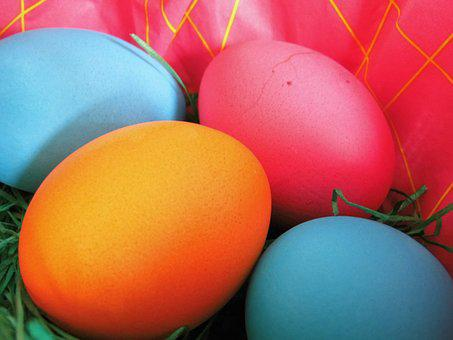 Egg, Easter, Eat, Colorful Eggs, Colorful, Hare