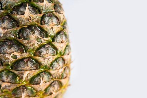 Pineapple, Fruit, Isolated, Food, Healthy, Fresh