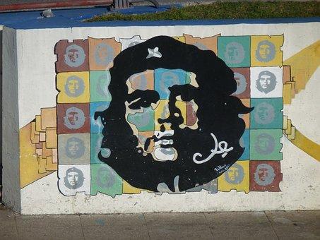 Vat, Havana, Guevara, Graffiti, Revolution