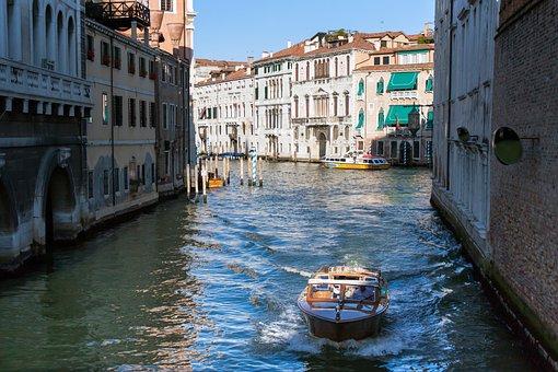 Venice, Venezia, Grand Canal, Italy, Canal, Travel
