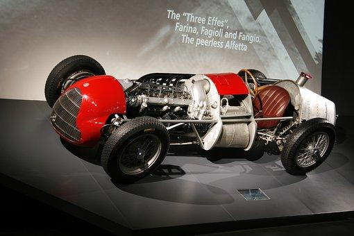 Alfa Romeo, Milan, Car, Racing, Veteran, Museum