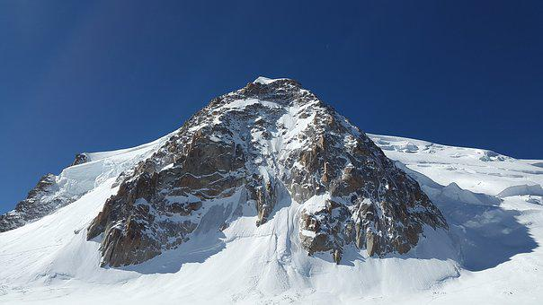 Triangle Du Tacul, Mont Blanc Du Tacul, High Mountains