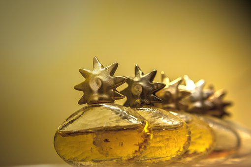 Perfume, Perfumes, Ornament, Beauty, Gold, Atmosphere