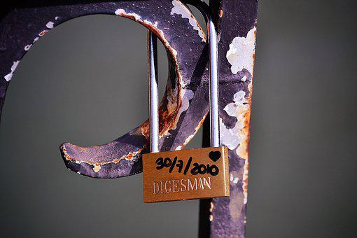 Padlock, Love, Security, Romantic, United States