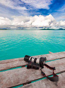 Travel, South Island, Camera, Turquoise