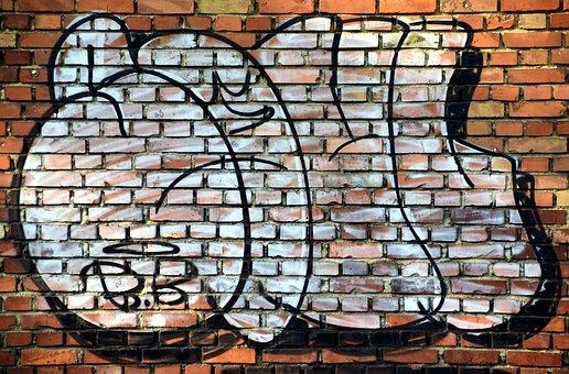 Wall, Clinker, Facade, Hauswand, Brick, Structure