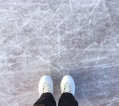 Ice, Skating, Winter