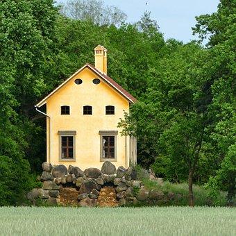 Park Wörlitz, Piedmontese Farmhouse, Architecture