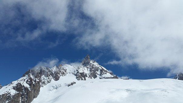 Dent Du Géant, Grand Jorasses, High Mountains, Chamonix