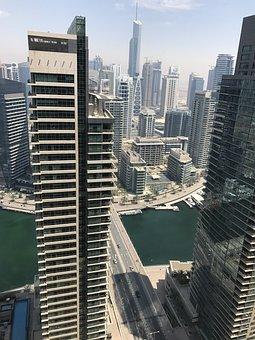 Dubai, City, Font Font Rascacielos Font Font