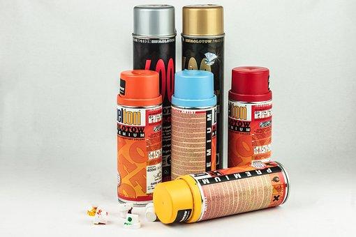 Spray, Spray Can, Graffiti, Grafitti, Art, Creativity