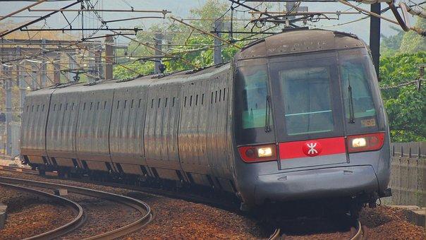 Hongkong, Train, Rail, Transportation, City, Hong, Kong