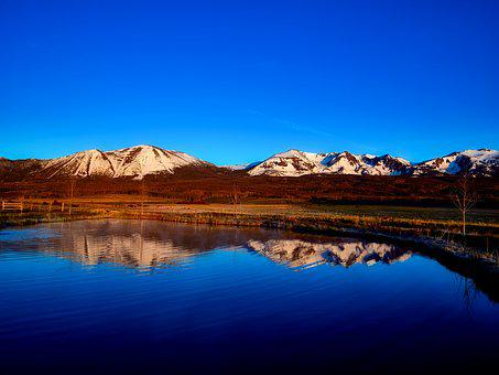 Colorado, Mountains, Snow, Lake, Water, Reflections