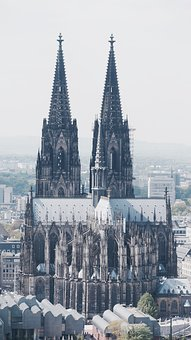 Cologne, Dom, Cologne Cathedral, Church, Sky, Landmark