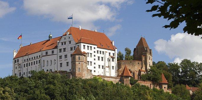 Landshut, Castle, Germany, Trausnitz Castle
