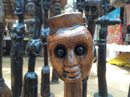 Love, Wooden, Sculpture, Wood, Heart, Design