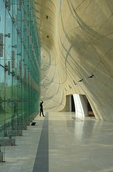 Polin, Architecture, Man, The Museum, Light