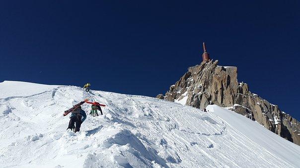 Aiguille Du Midi, Mountaineer, Backcountry Skiiing