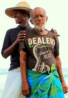 Fishermen, Sri Lanka, Sea, Fishing, Ocean, Coast