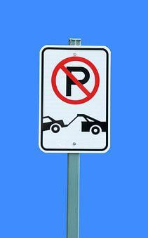 Tow Away, Sign, No Parking, Road, Traffic, Parking