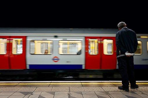 Train, Tube, Underground, Transport, Metro