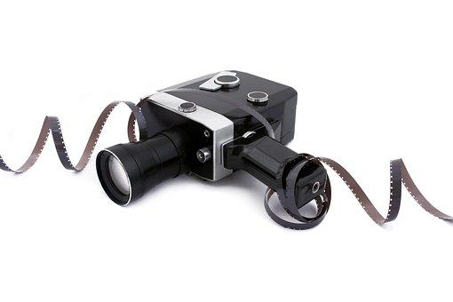 Film, Camera, Cinema, Equipment, Movie, White, Strip