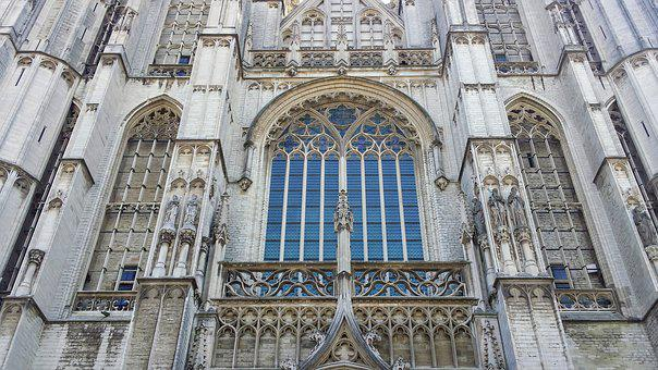 Cathedral, Antwerp, Architecture, Building