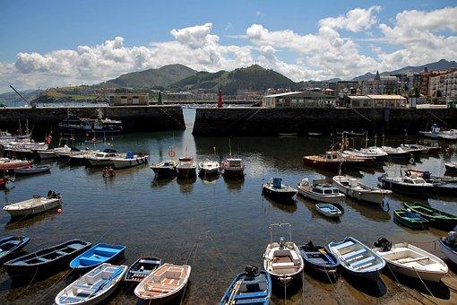 Boats, Fishing, Spring, Boat, Barca, Ocean, Water
