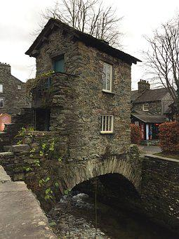 Bridgehouse, Bridge, House, Ambleside, Lake District