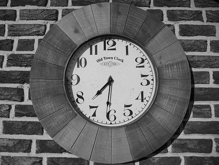 Clock, Antique, Time Of, Time, Old, Clock Face, Pointer