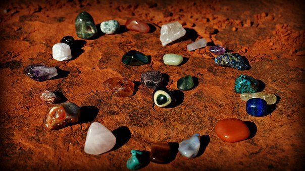 Bell Rock Vortex, Stones, Crystals, Arizona, Desert