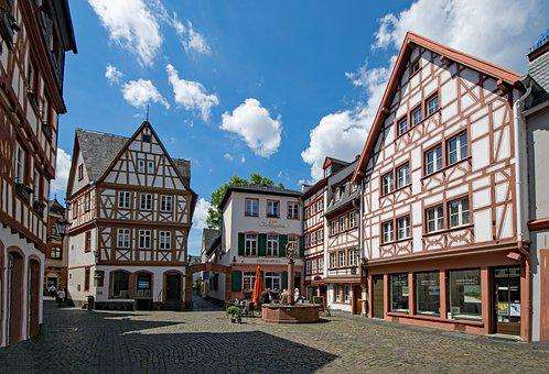 Mainz, Sachsen, Germany, Europe, Old Building, Old Town
