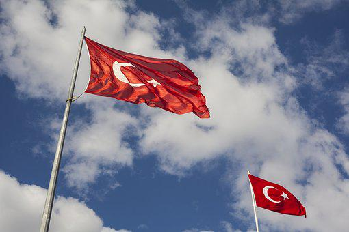 Flag, Red, Independence, Turkey, White, Month, Blue