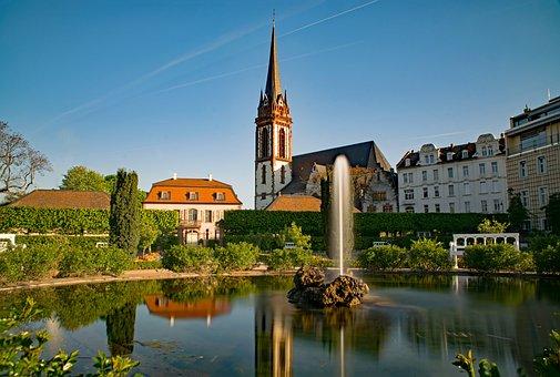 Prince Georgs-garden, Darmstadt, Hesse, Germany, Garden