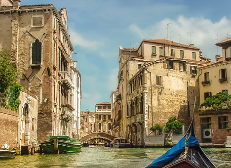 Venice, Gondola, Ride, Boat, Tour, Tourism, Travel