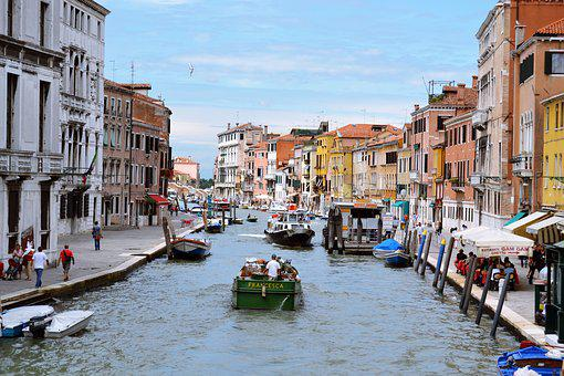 Venice, Sea, Monument, Italy, City, Channel, Landscape
