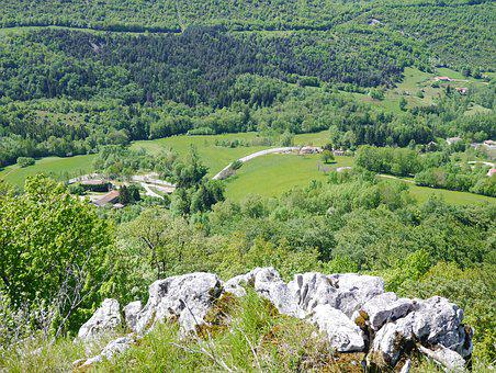 Mountain, Landscape, Tree, Summer, Nature, Vercors