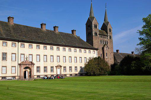 Castle, Germany, Nature, Architecture, Noble