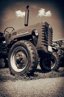 Tractor, Oldtimer, Old, Agriculture